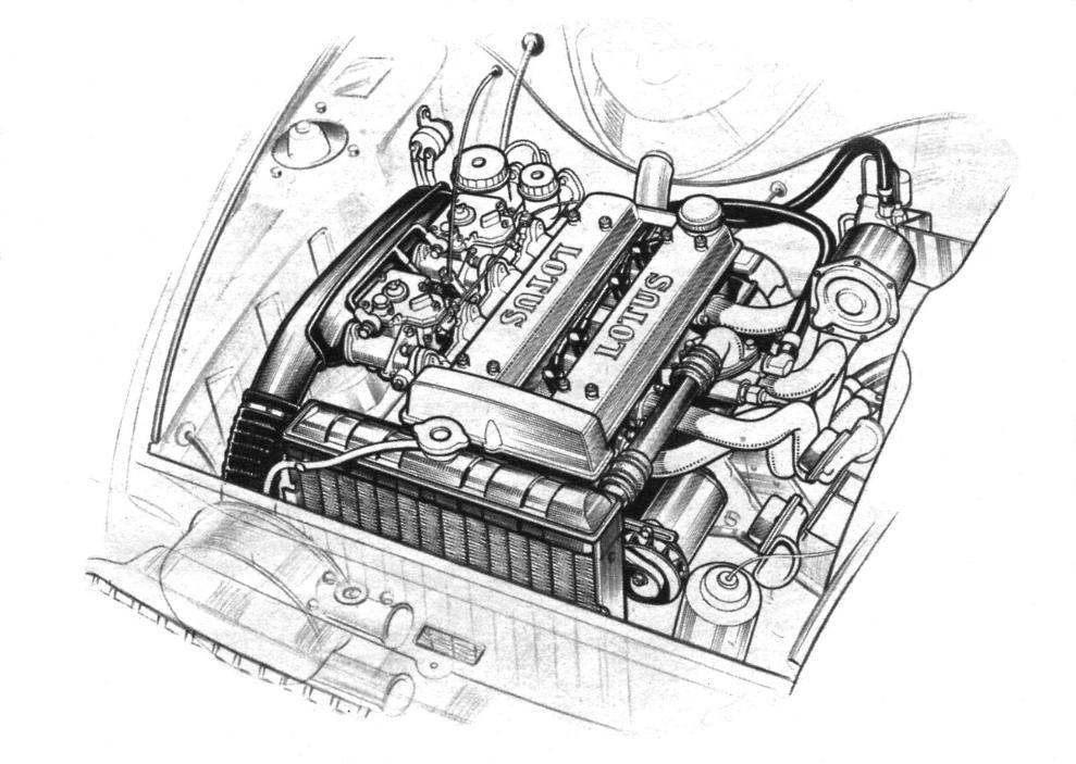 Engine Bay Drawing on Ford Cortina Engine Diagram