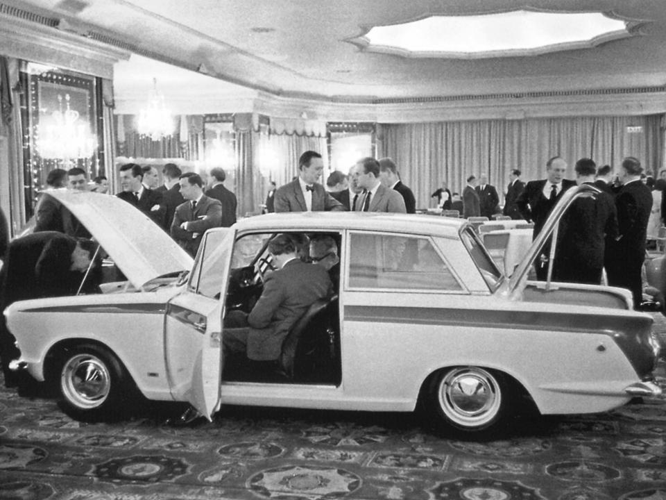 10.0 1 Lotus Cortina Launch Dorchester