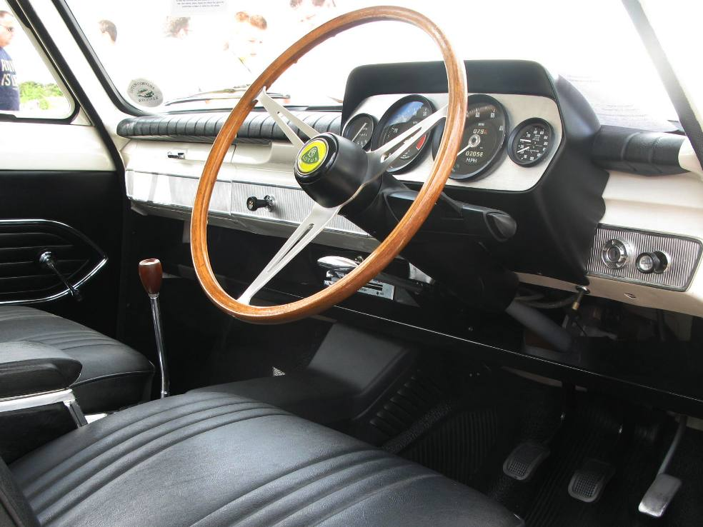 Lotus Cortina Information Mk 1 Features And Changepoints
