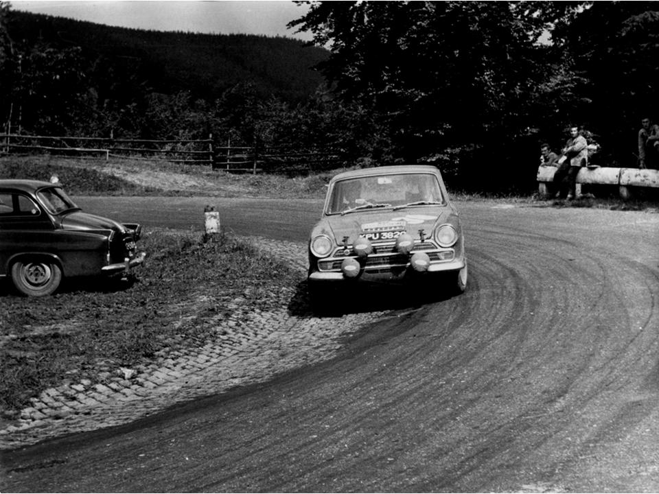 50.1 v4 14a Lotus Cortina Rally Roger Clark Porter Melia KPU 382C