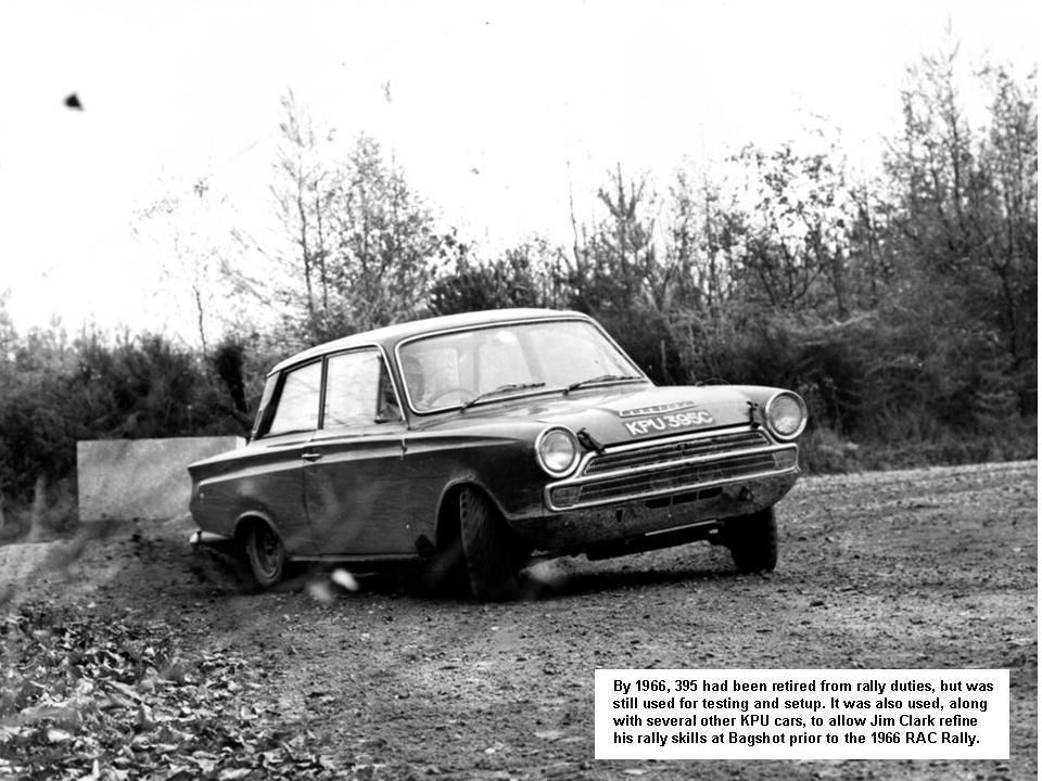 50.1 v4 22c Lotus Cortina Rally Jim Roger Clark KPU 395C