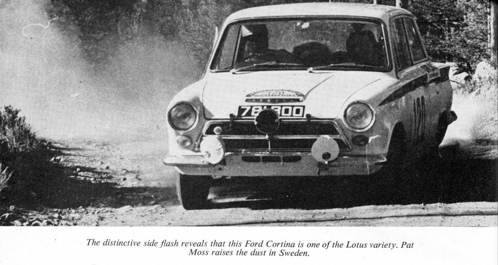 50.1 v4 5aa 781 BOO Lotus Cortina Pat Moss