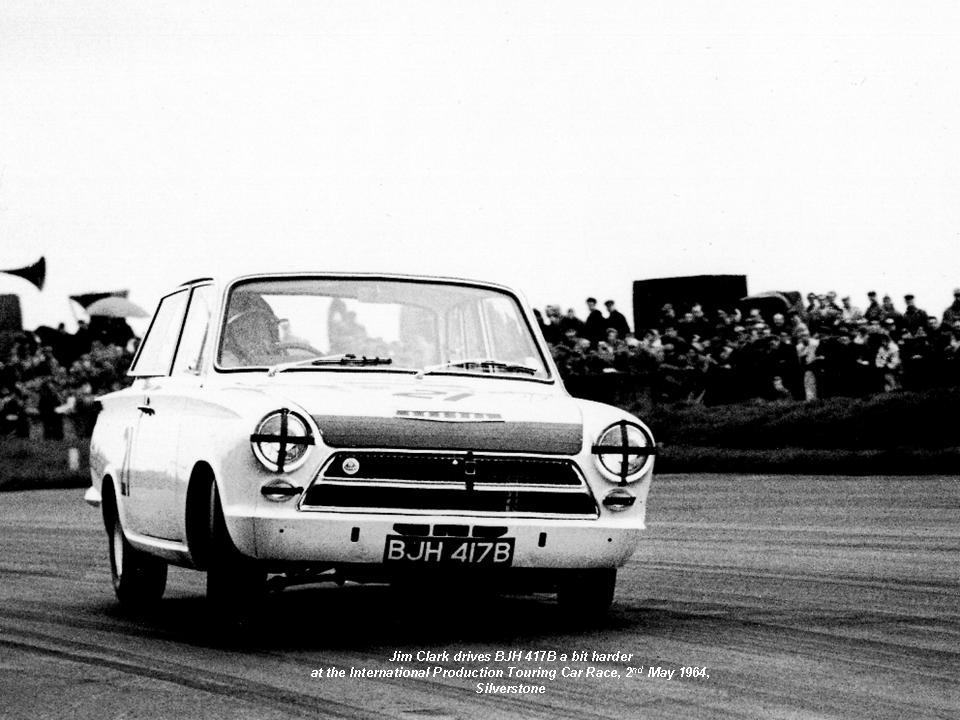 50.1.16 V3 BJH 417B Jim Clark Lotus Cortina