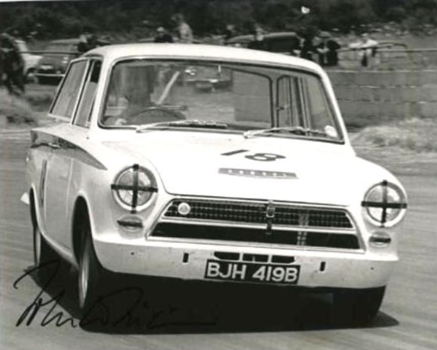 50.1.31 V3 BJH 419B John Whitmore Lotus Cortina
