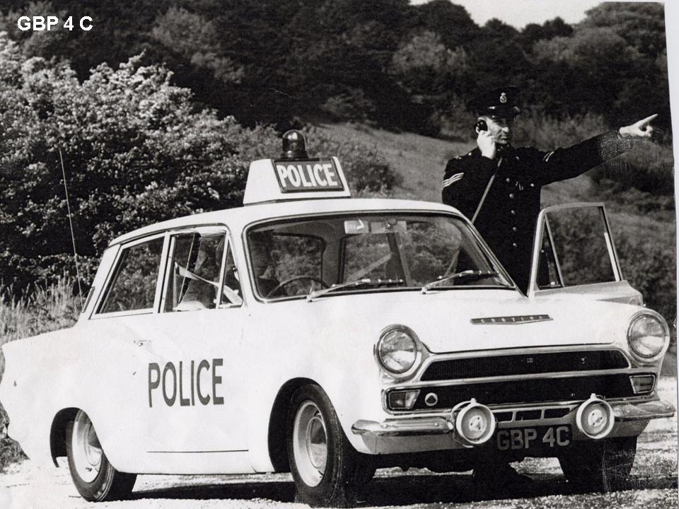 Lotus Cortina Information Mk 1 Police Cars