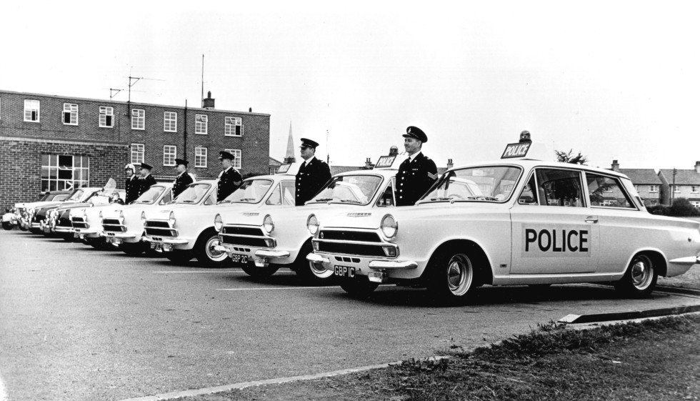Lotus Cortina Information – Mk 1 Police Cars