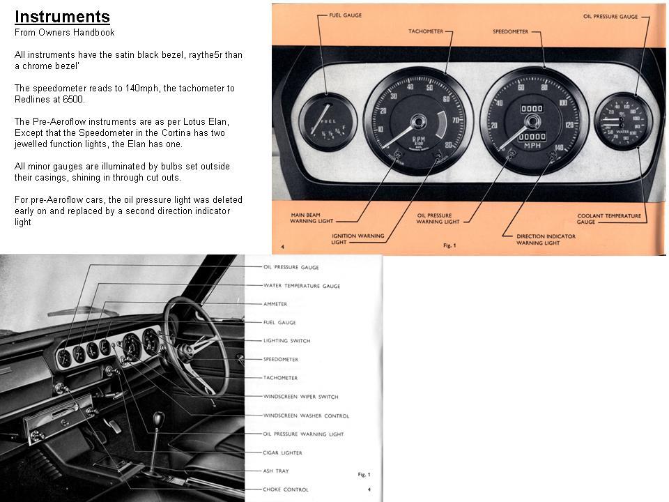 Lotus Cortina Information  U2013 Mk 1 Originality