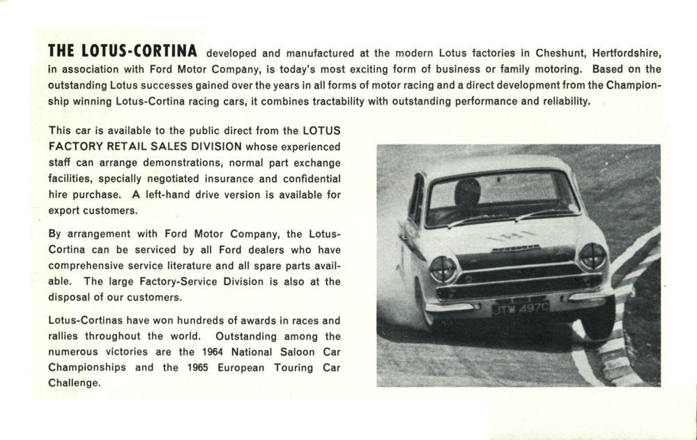 30.1 65 Mk 1 2 Lotus Cortina Aeroflow Brochure small