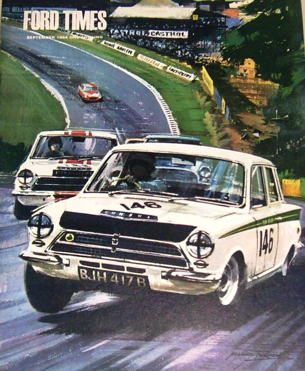 Lotus Cortina Information – -Race Cars-
