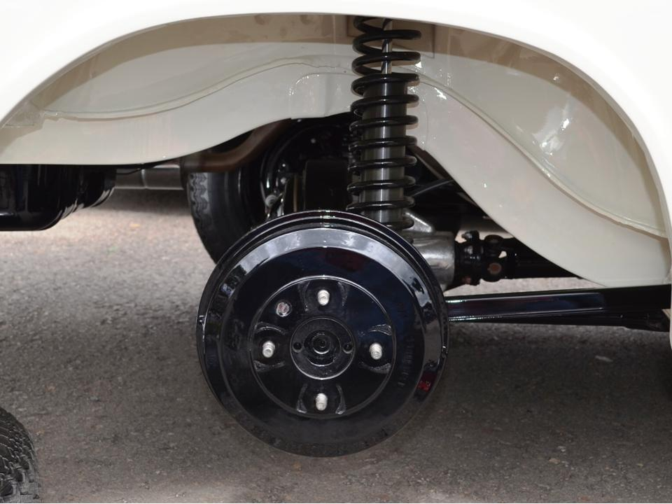 Lotus Cortina Pre-Aeroflow Underside 10