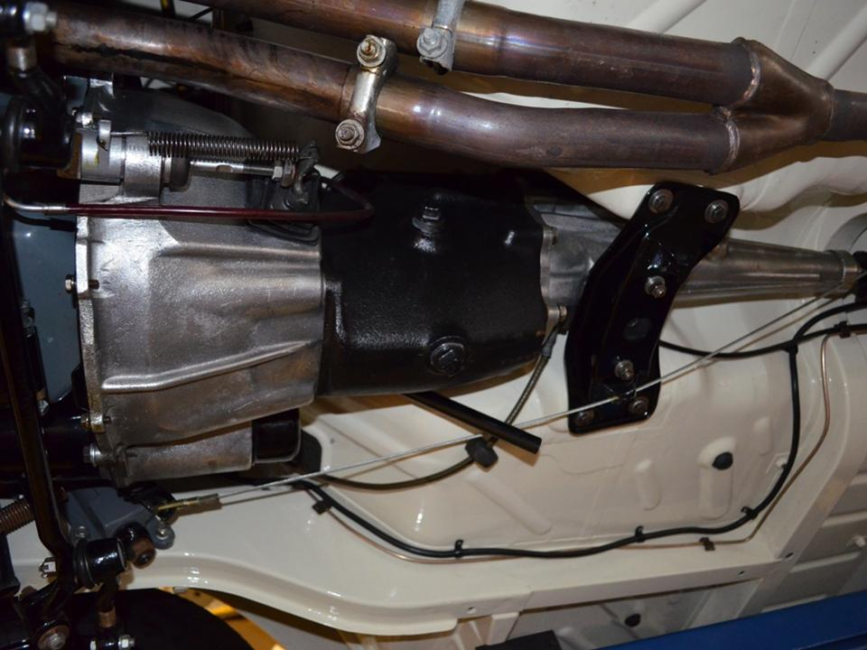 Lotus Cortina Pre-Aeroflow Underside 20