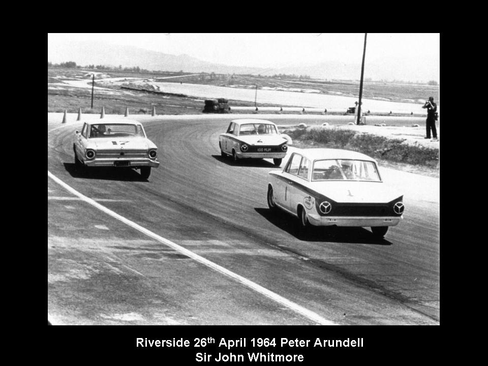 50.1.37 USA Lotus Cortina 11 Riverside 6404 Peter Arundell John Whitmore