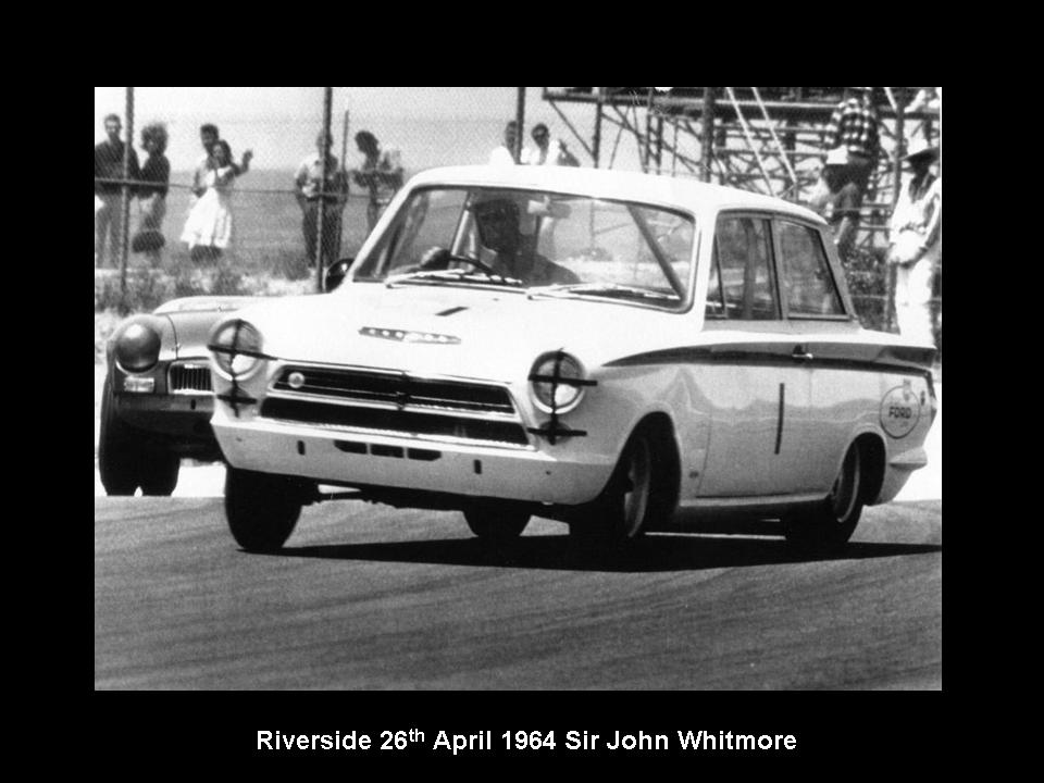 50.1.37 USA Lotus Cortina 12 Riverside 6404 John Whitmore