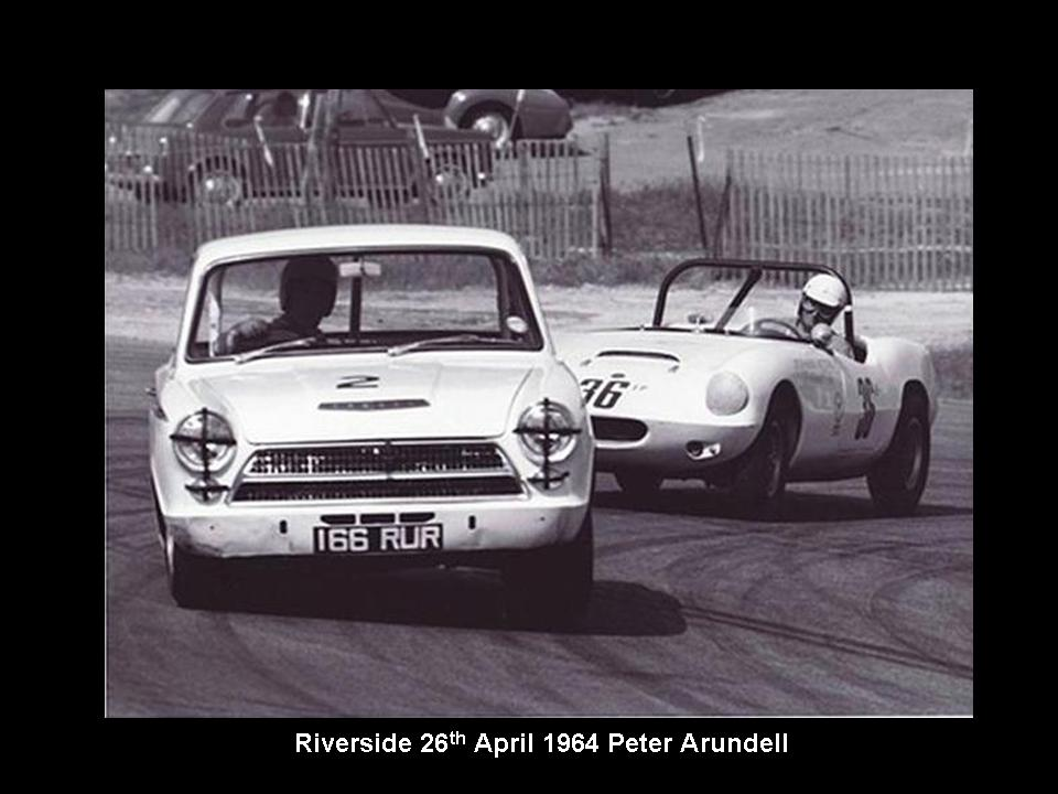 50.1.37 USA Lotus Cortina 13 Riverside 6404 Peter Arundell