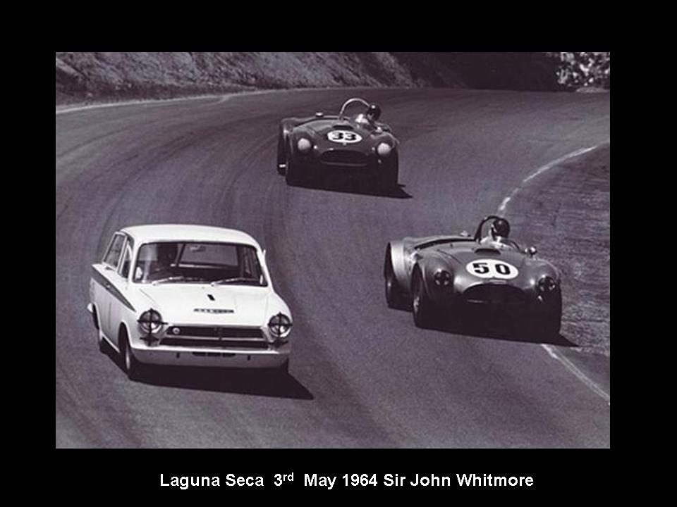 50.1.37 USA Lotus Cortina 14 Laguna  Seca 6405 John Whitmore