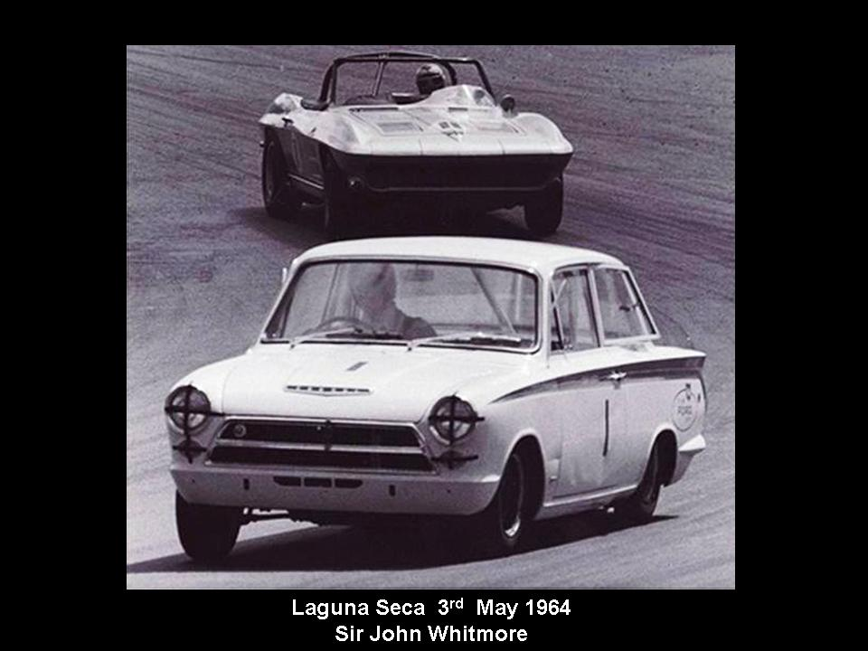 50.1.37 USA Lotus Cortina 16 Laguna  Seca 6405 John Whitmore