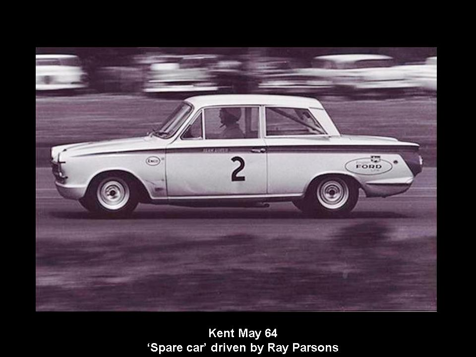 50.1.37 USA Lotus Cortina 17 Kent 6405 Ray Parsons