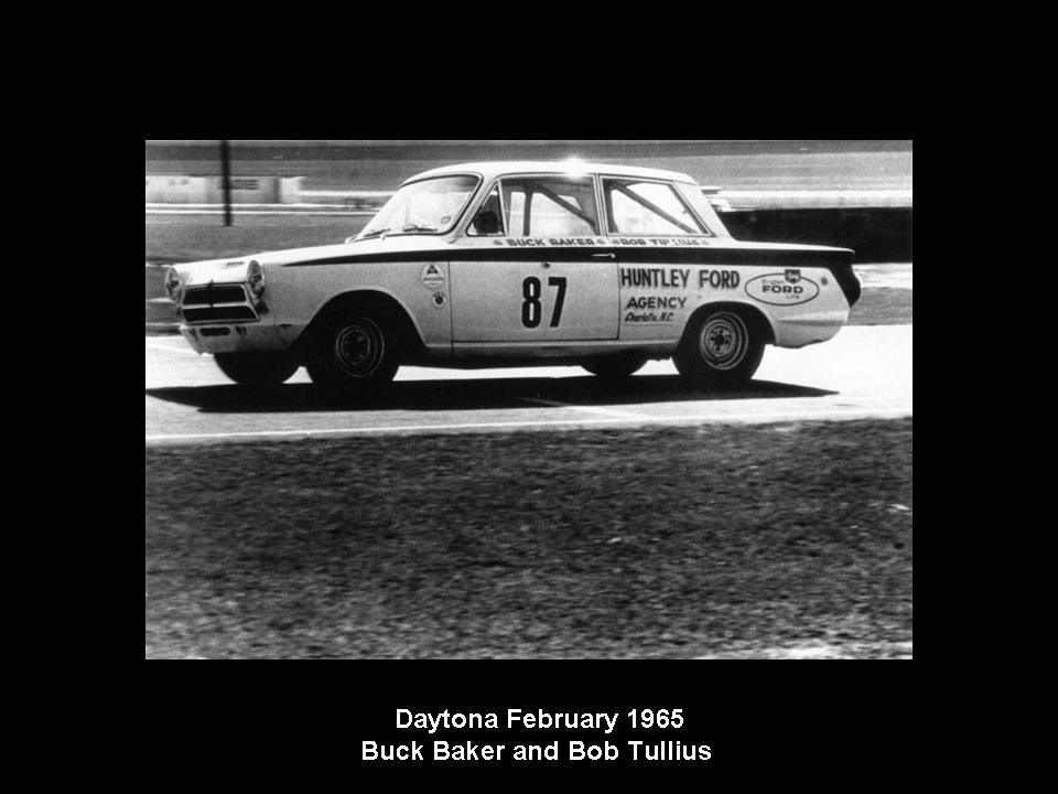50.1.37 USA Lotus Cortina 20 Daytona 6502 Bob Tullius Buck Baker