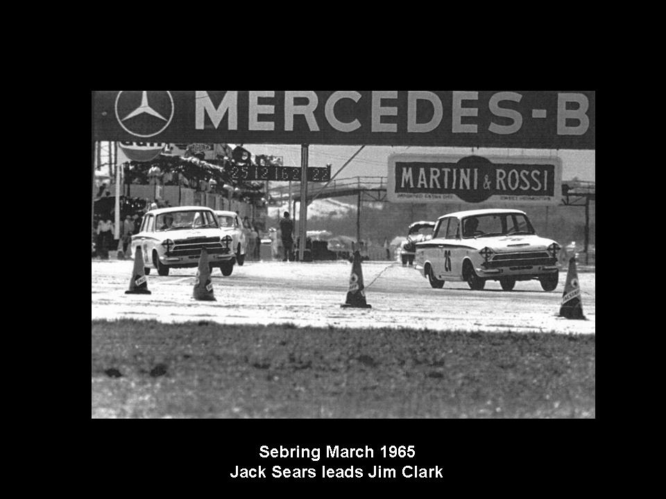 50.1.37 USA Lotus Cortina 21 Sebring 6503 Jim Clark Jack Sears
