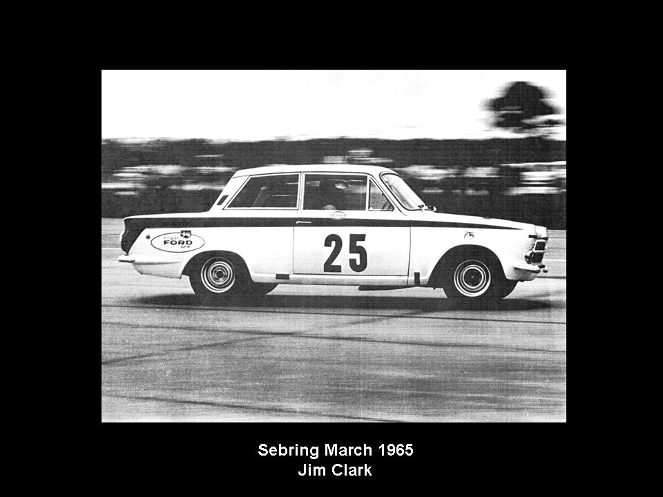 50.1.37 USA Lotus Cortina 22 Sebring 6503 Jim Clark Jack Sears