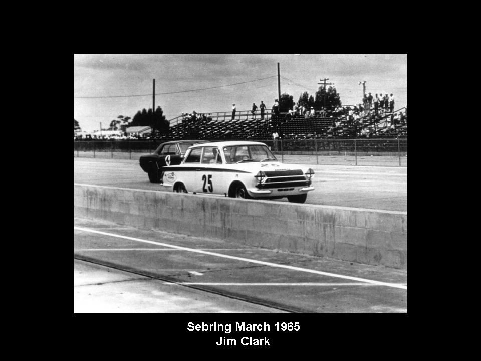 50.1.37 USA Lotus Cortina 23 Sebring 6503 Jim Clark Jack Sears