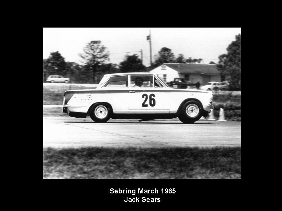 50.1.37 USA Lotus Cortina 24 Sebring 6503 Jim Clark Jack Sears