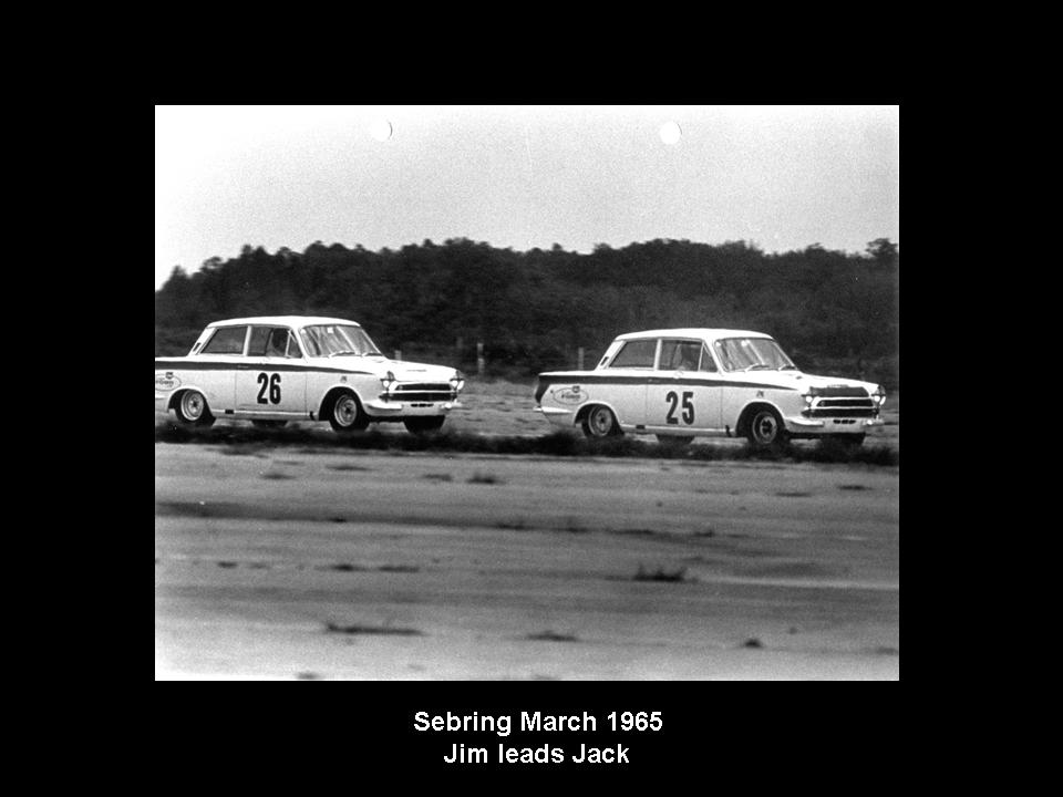 50.1.37 USA Lotus Cortina 28 Sebring 6503 Jim Clark Jack Sears