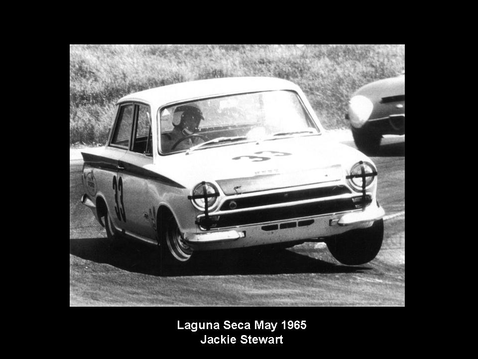50.1.37 USA Lotus Cortina 31 Laguna Seca 6505 Jackie Stewart
