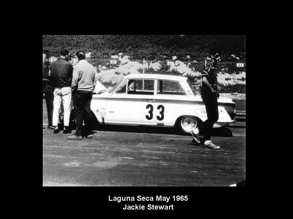50.1.37 USA Lotus Cortina 32 Laguna Seca 6505 Jackie Stewart