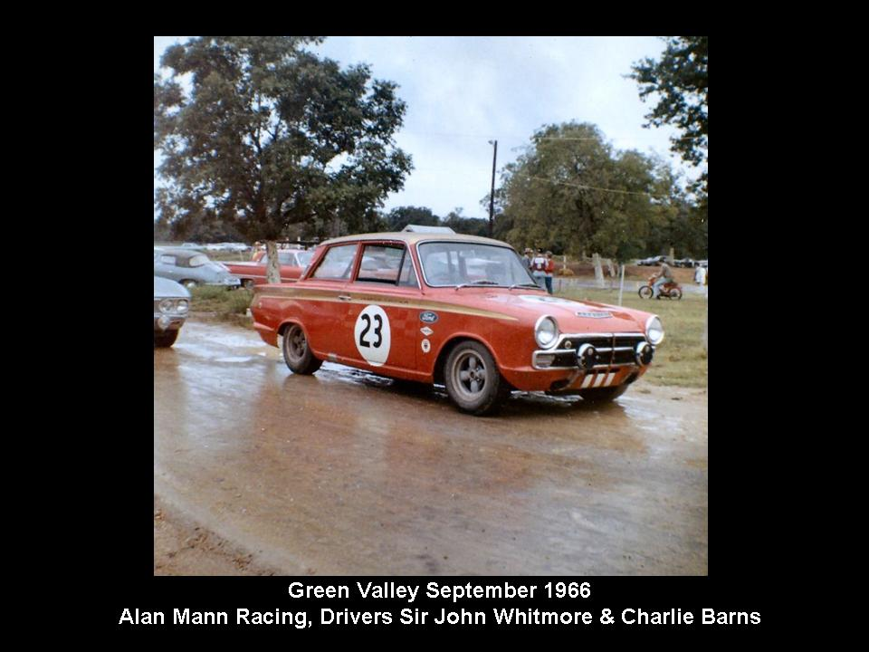 50.1.37 USA Lotus Cortina 34 Green Valley 6609 Alan Mann John Whitmore Charlie Barnes