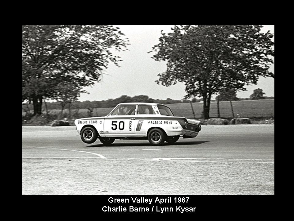 50.1.37 USA Lotus Cortina 36 Green Valley 6704 Charlie Barns Lynn Kysar