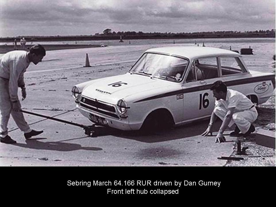 50.1.37 USA Lotus Cortina 5 Sebring 6403 Dan Gurney 1