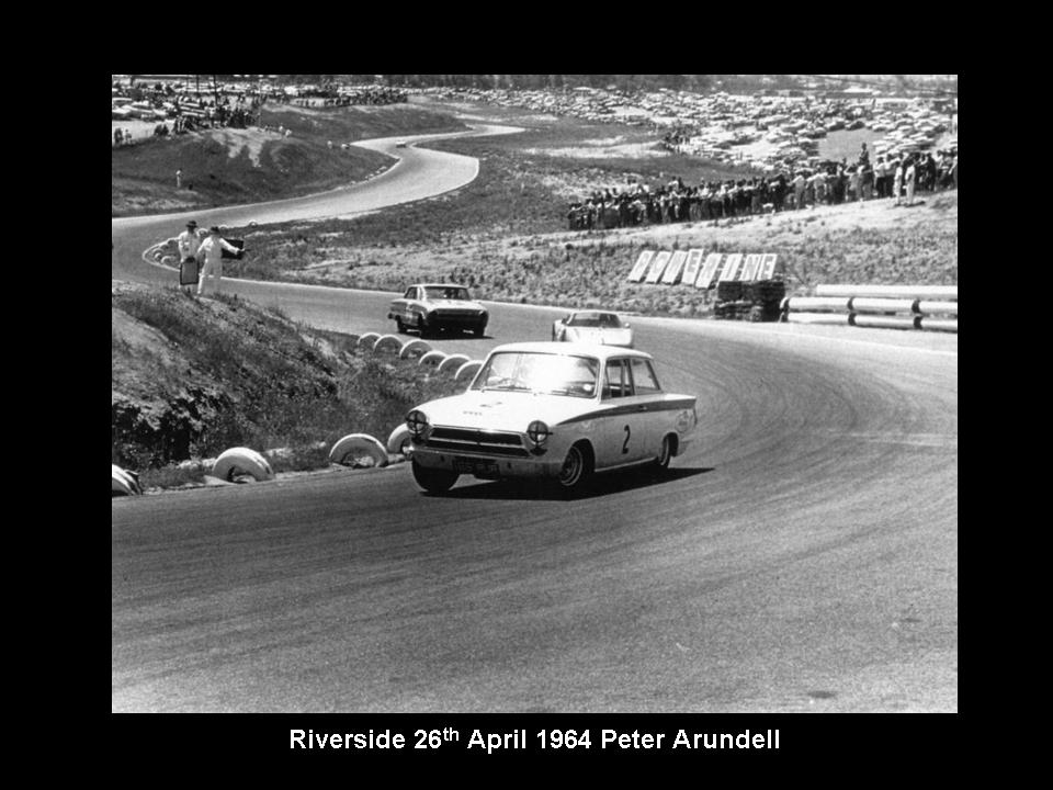 50.1.37 USA Lotus Cortina 8 Riverside 6404 Peter Arundell