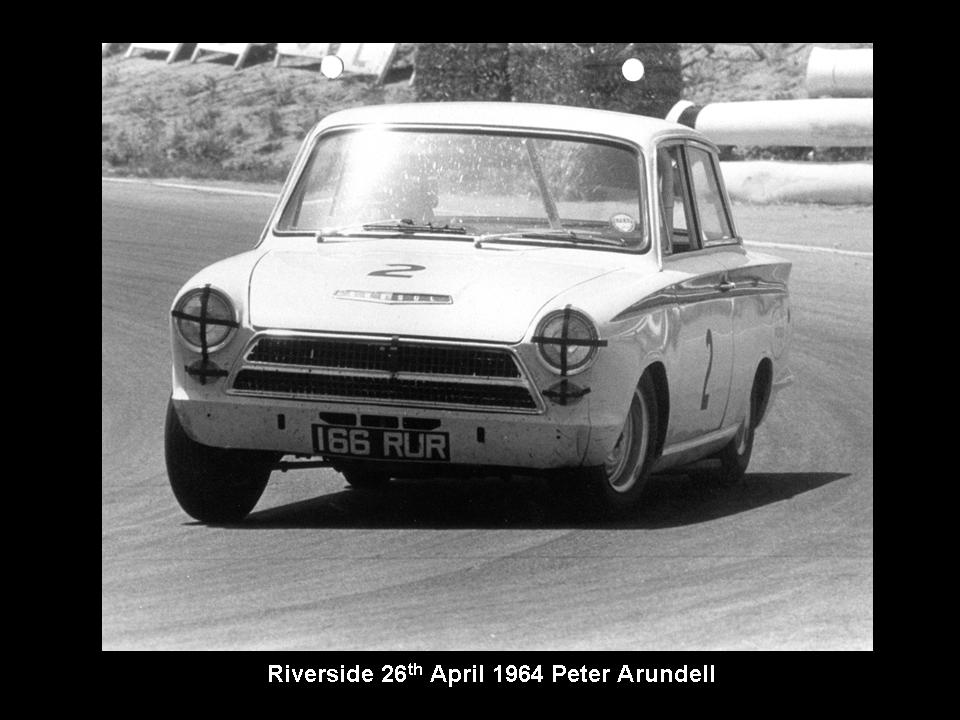50.1.37 USA Lotus Cortina 9 Riverside 6404 Peter Arundell John Whitmore (2)