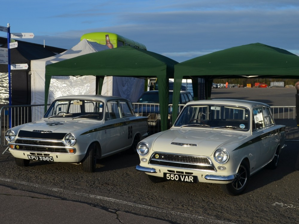 90 Lotus Cortina Team Lotus KPU396C 1