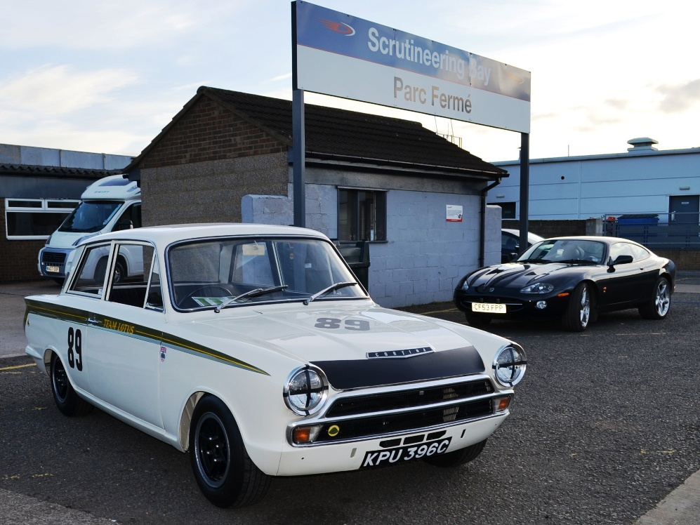 90 Lotus Cortina Team Lotus KPU396C 2