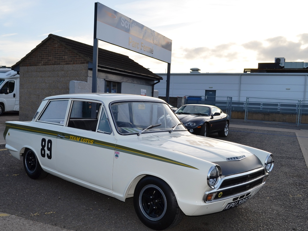 90 Lotus Cortina Team Lotus KPU396C 3