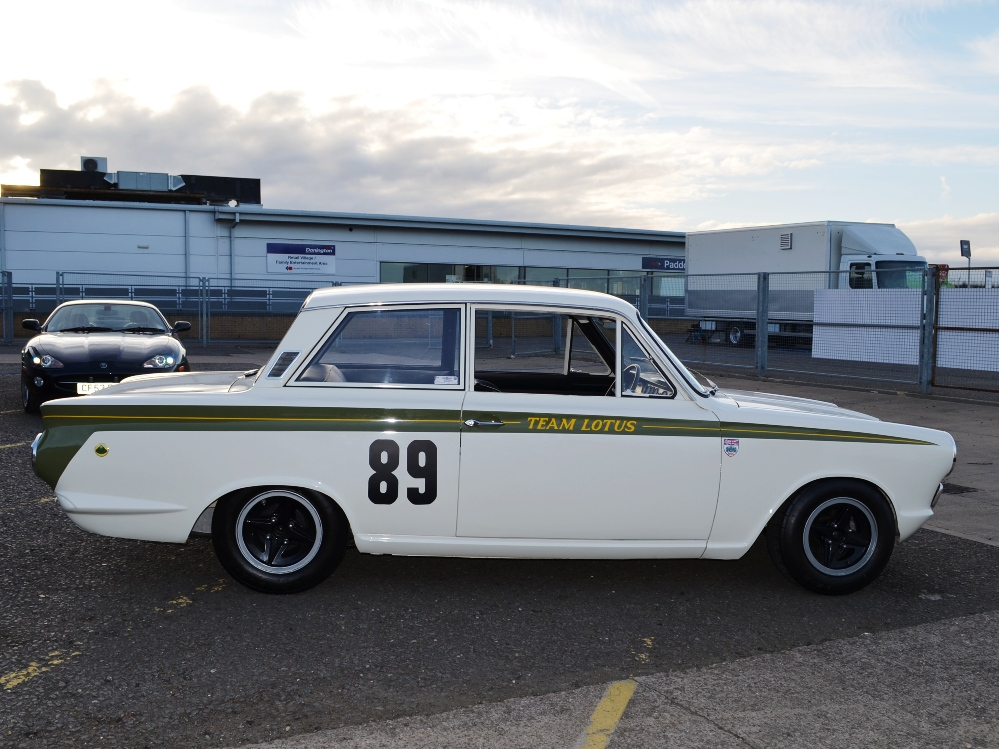90 Lotus Cortina Team Lotus KPU396C 4