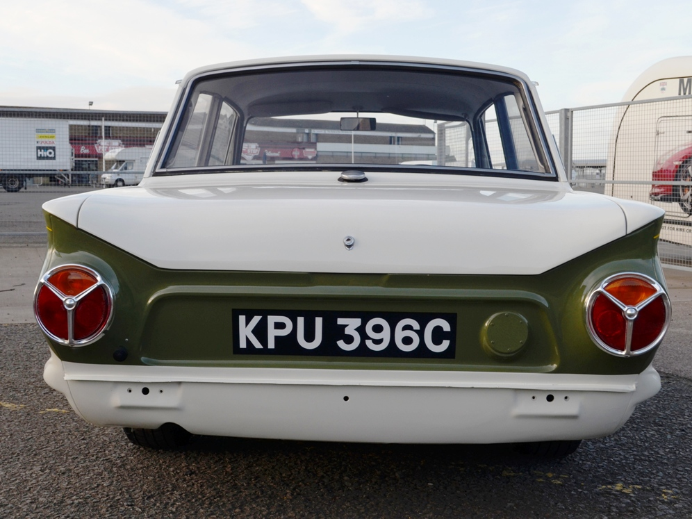 90 Lotus Cortina Team Lotus KPU396C 6