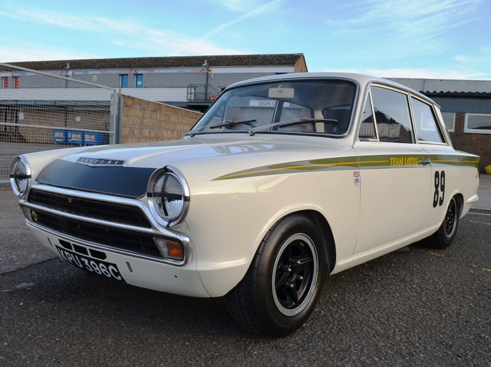 90 Lotus Cortina Team Lotus KPU396C 8