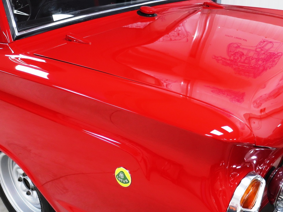 Lotus Cortina Mk1 Aeroflow A Frame Monaco Red 13