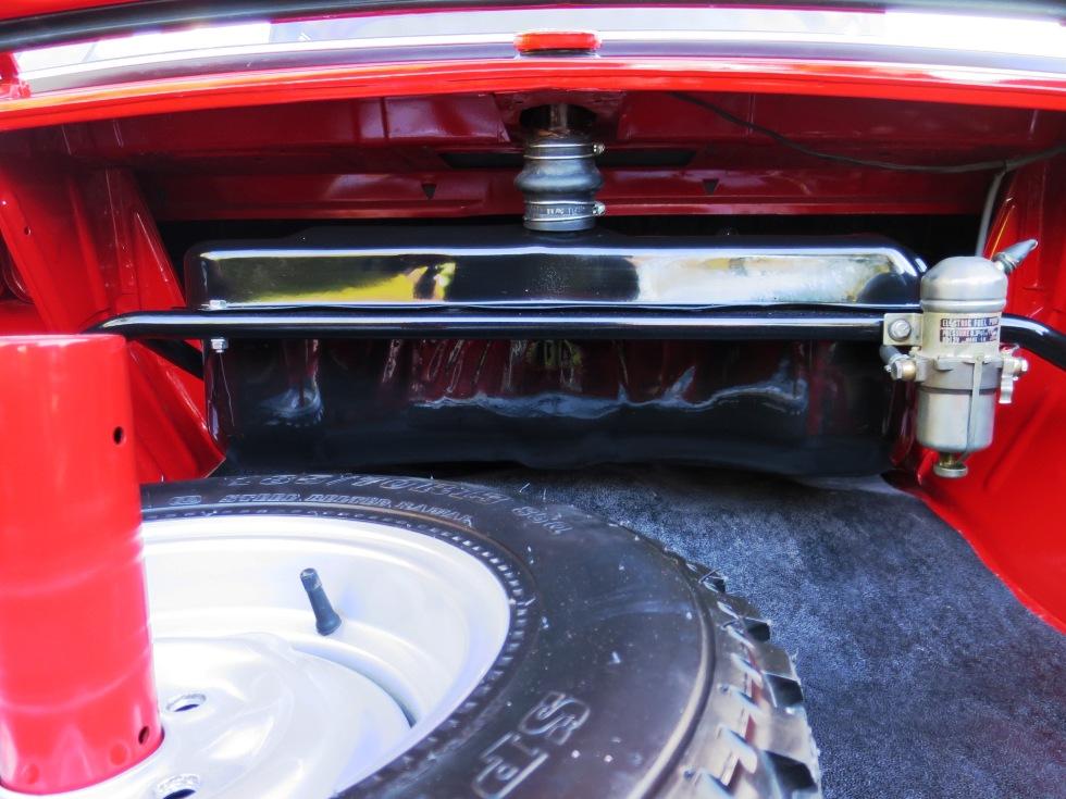 Lotus Cortina Mk1 Aeroflow A Frame Monaco Red 15