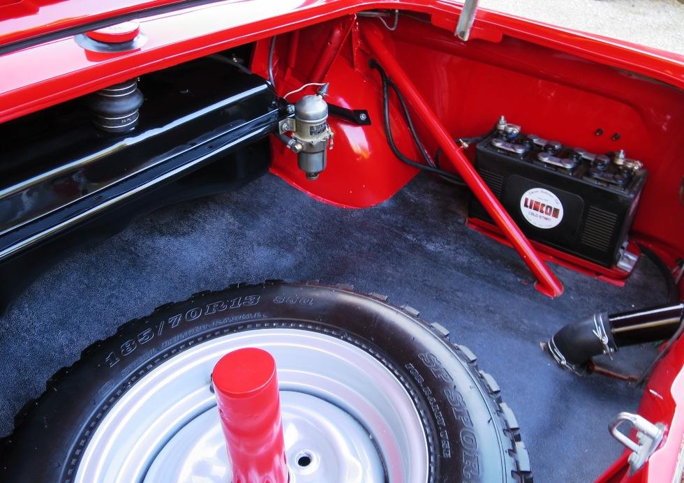 Lotus Cortina Mk1 Aeroflow A Frame Monaco Red 16