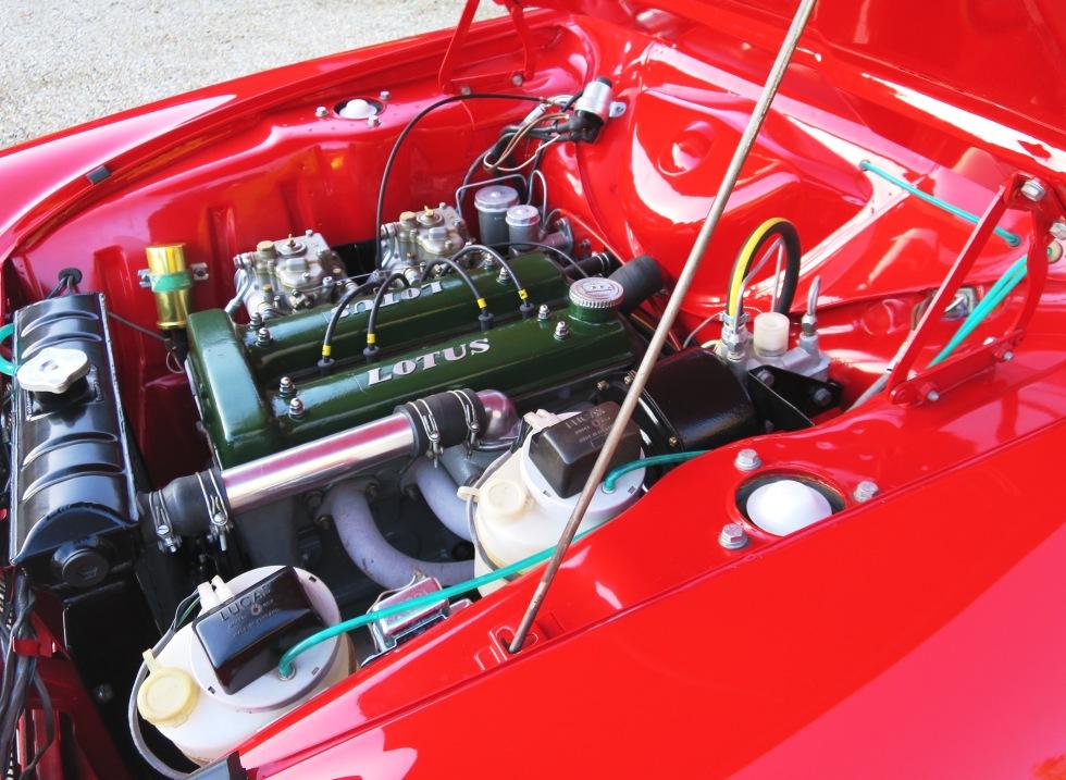 Lotus Cortina Mk1 Aeroflow A Frame Monaco Red 18