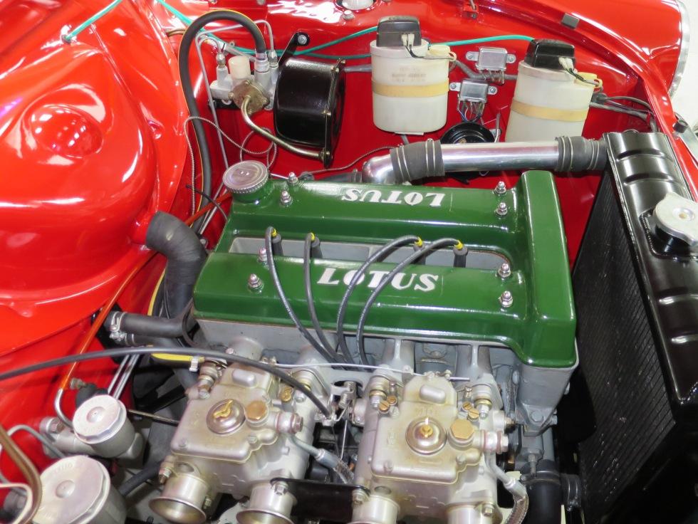 Lotus Cortina Mk1 Aeroflow A Frame Monaco Red 19