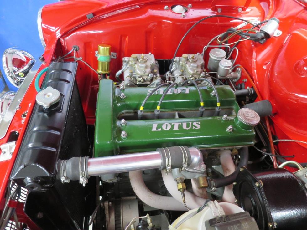 Lotus Cortina Mk1 Aeroflow A Frame Monaco Red 20