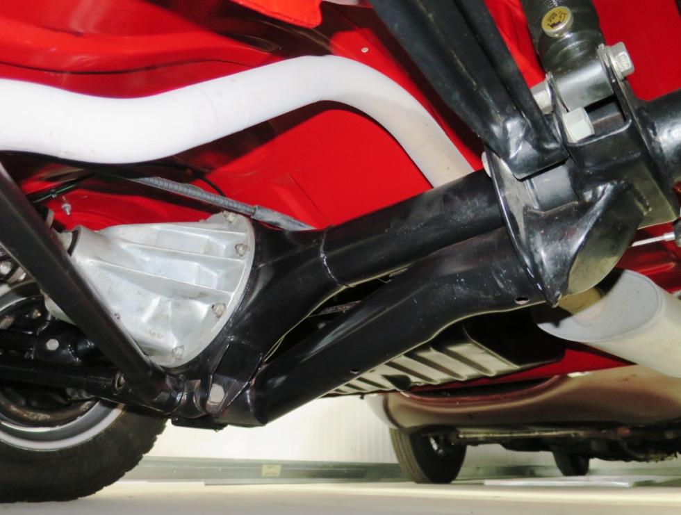 Lotus Cortina Mk1 Aeroflow A Frame Monaco Red 26