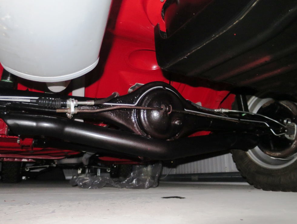 Lotus Cortina Mk1 Aeroflow A Frame Monaco Red 27