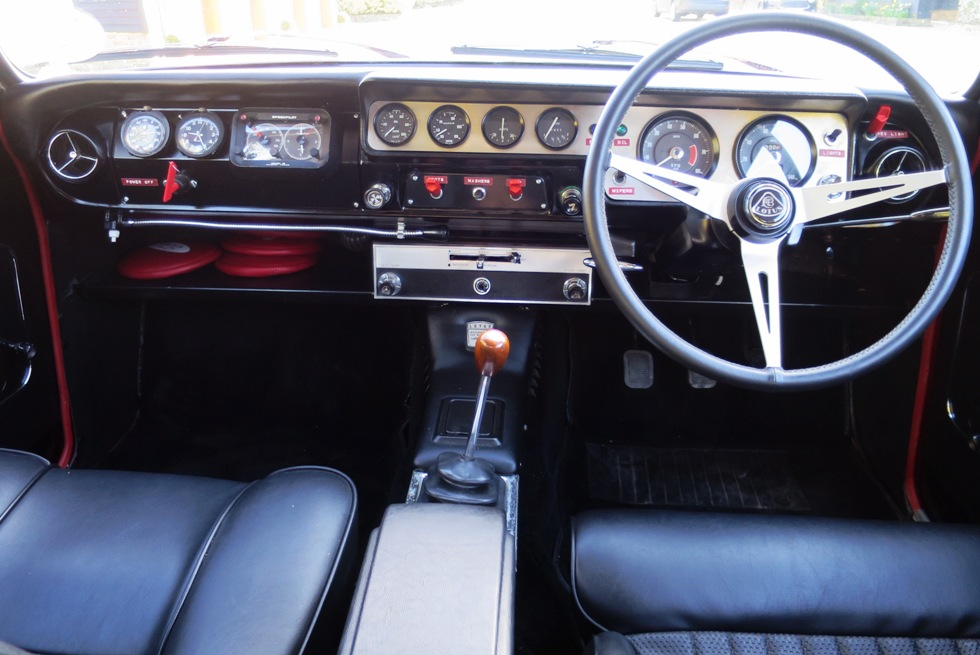 Lotus Cortina Mk1 Aeroflow A Frame Monaco Red 3