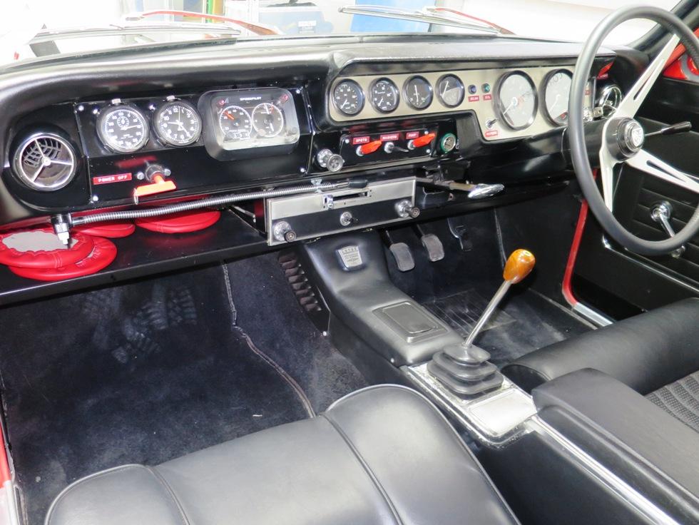 Lotus Cortina Mk1 Aeroflow A Frame Monaco Red 4